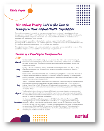 White Paper - The Virtual Health Reality - Its Time to Transform Your Virtual Health Capabilities_Page_1